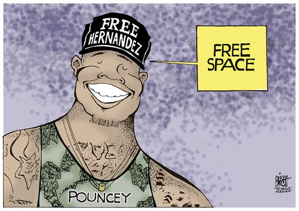 Randy Bish - Pittsburgh Tribune-Review - MAURKICE POUNCEY'S HAT, COLOR - English - Maurkice Pouncey, Steelers, Pittsburgh, Hernandez, murder, arrested, football, NFL
