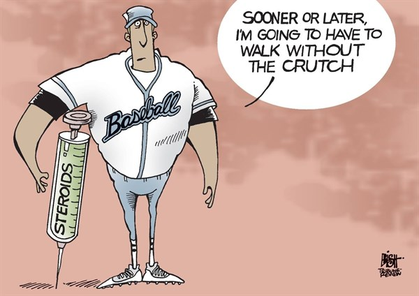 STEROIDS © Randy Bish,Pittsburgh Tribune-Review,BASEBALL, STEROID, STEROIDS, A-ROD, DRUGS