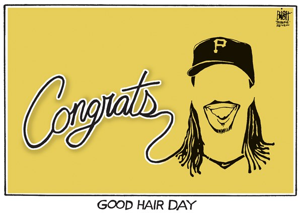 Randy Bish - Pittsburgh Tribune-Review - MCCUTCHEN, NL MVP - English - MCCUTCHEN, PITTSBURGH, PIRATES, ANDREW MCCUTCHEN, MVP, NATIONAL LEAGUE, BASEBALL, 2013