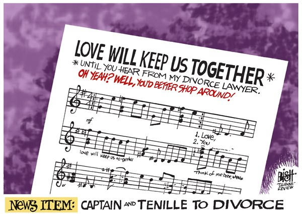 143427 600 CAPTAIN AND TENILLE DIVORCE cartoons