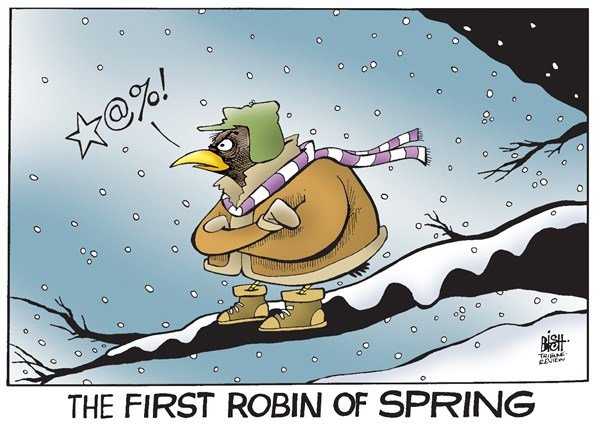 145574 600 THE ARRIVAL OF SPRING cartoons
