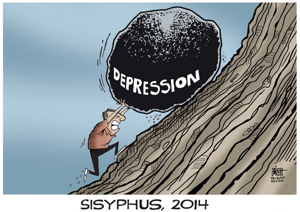 Randy Bish - Pittsburgh Tribune-Review - DEPRESSION, COLOR - English - DEPRESSION, MENTAL ILLNESS, SUICIDE, MENTAL HEALTH