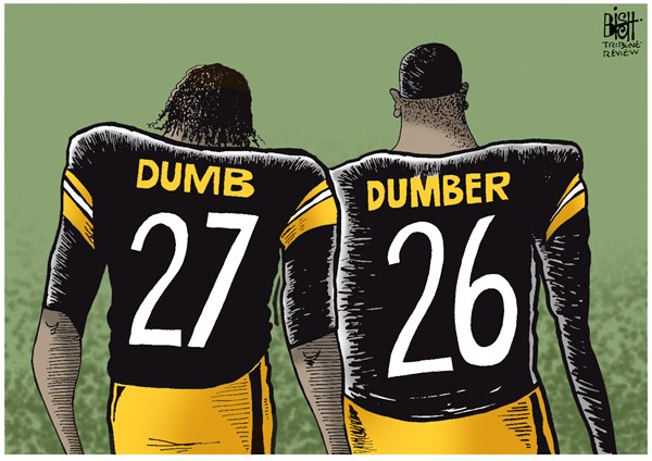 LOCAL  DRUGS  DUI AND THE STEELERS © Randy Bish,Pittsburgh Tribune-Review,MARIJUANA, PITTSBURGH, STEELERS, FOOTBALL, BELL, BLOUNT, DUI, DRUGS, ARRESTED