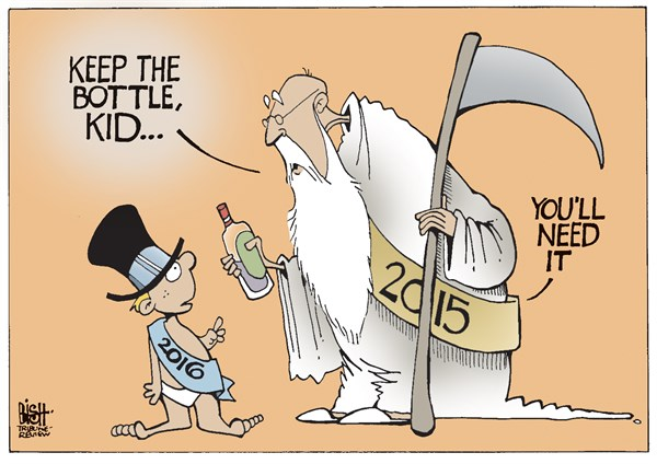 Randy Bish - Pittsburgh Tribune-Review - NEW YEAR, COLOR - English - NEW YEAR, NEW YEARS EVE