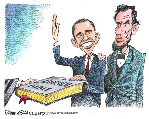 60003 600 Obama Inauguration cartoons
