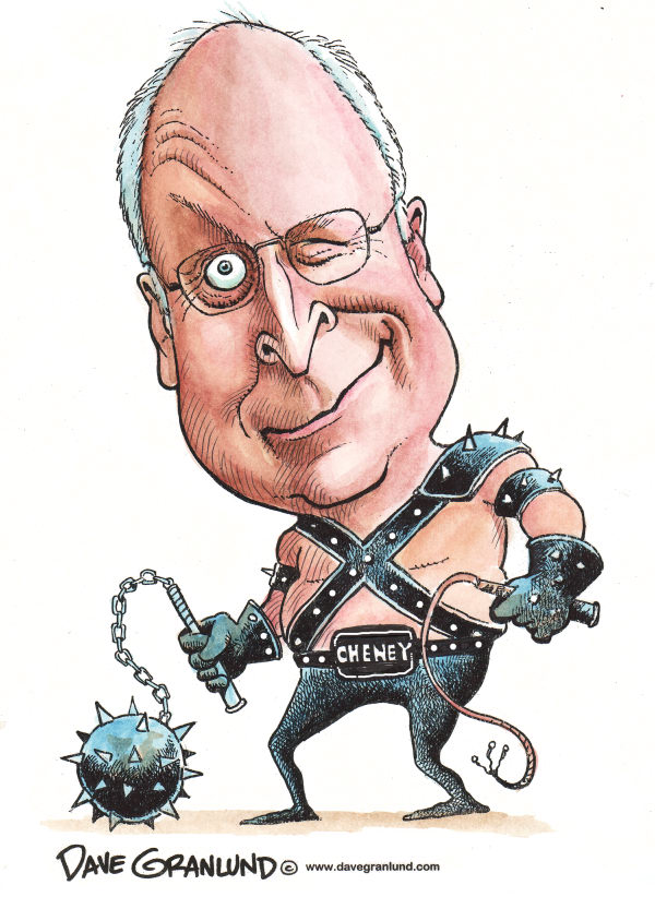 63799 600 Cheney Torture Caricature cartoons
