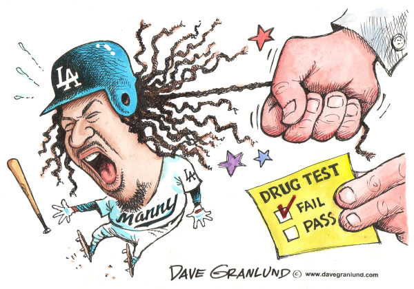 64356 600 Manny Ramirez and Drugs cartoons
