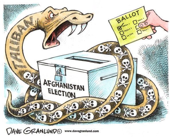 67916 600 Afghanistan Election cartoons