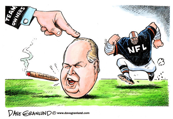 70103 600 Rush Limbaugh and NFL cartoons
