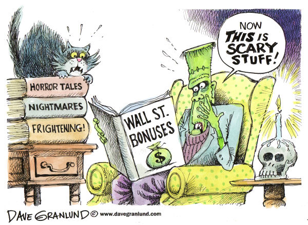70222 600 Wall Street Bonuses cartoons