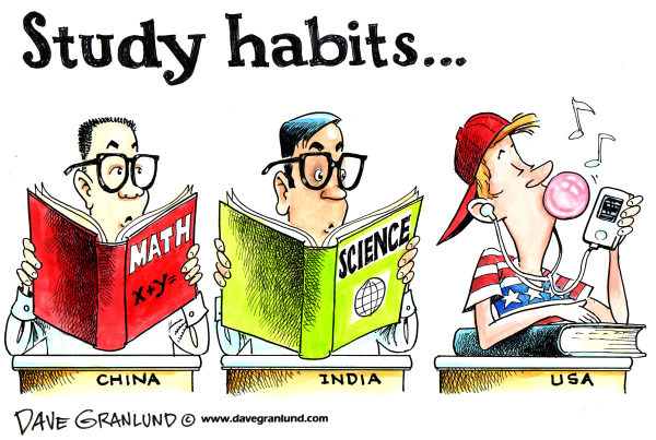 71820 600 Student study habits cartoons