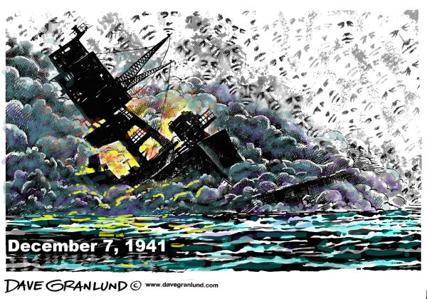 72010 600 Pearl Harbor December 7 cartoons