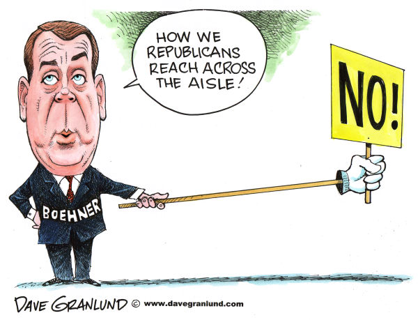 74578 600 Boehner and GOP bipartisanship cartoons