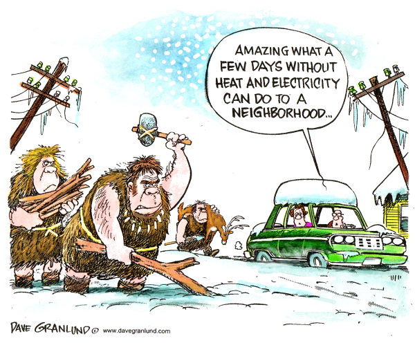 75286 600 Snowstorms and power outages cartoons
