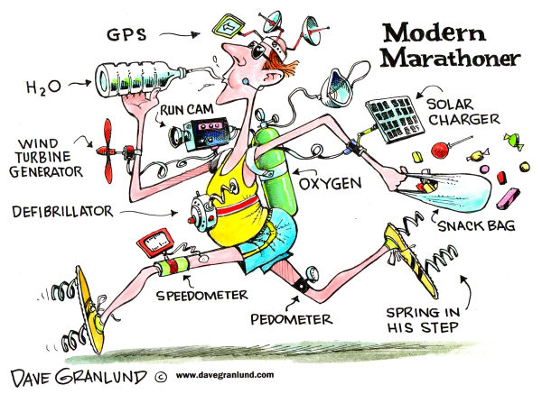 77215 600 Marathon runner cartoons