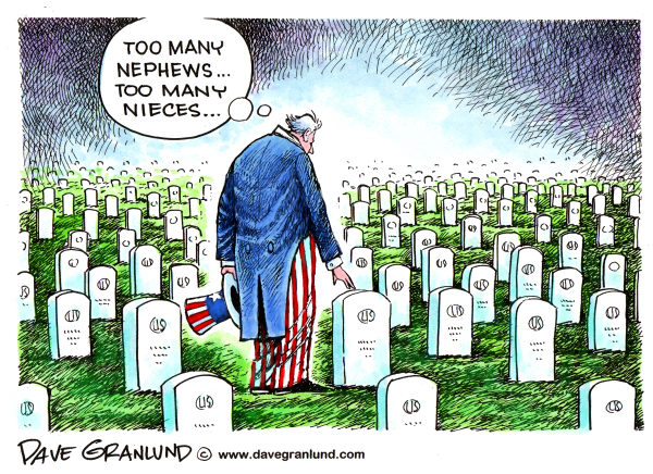 78789 600 Memorial Day and Uncle Sam cartoons