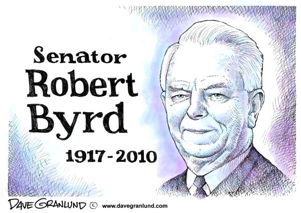 80108 600 Senator Robert Byrd tribute cartoons