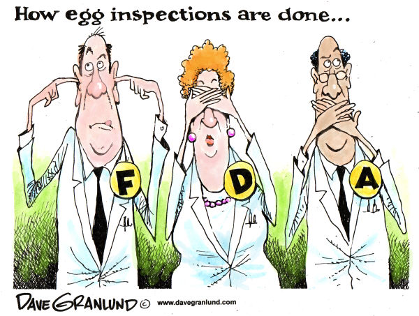 82190 600 FDA and egg inspectors cartoons