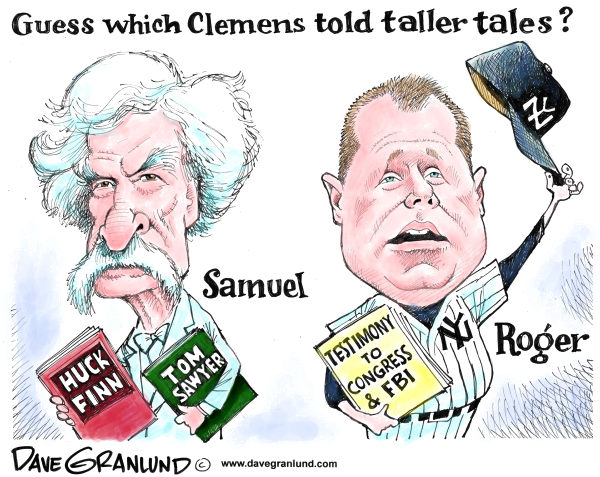 82540 600 Clemens and tall tales cartoons