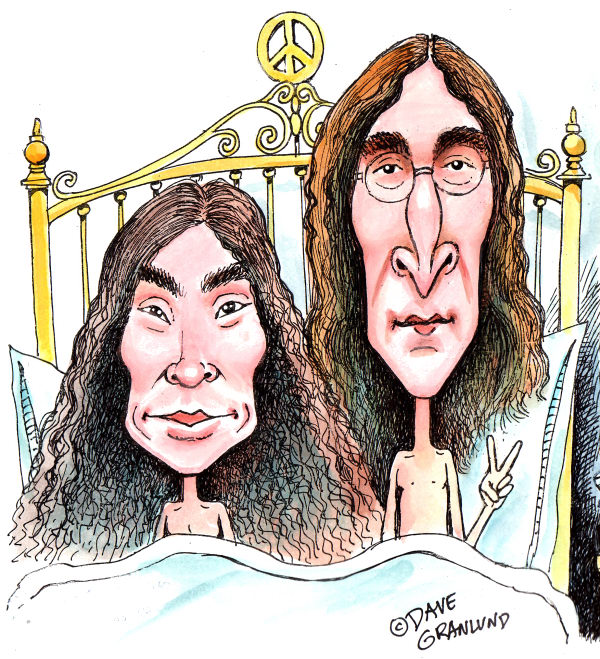 84177 600 John Lennon Birthday Oct 9th cartoons