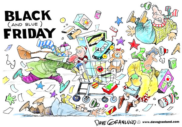 86081 600 Black and Blue Friday cartoons