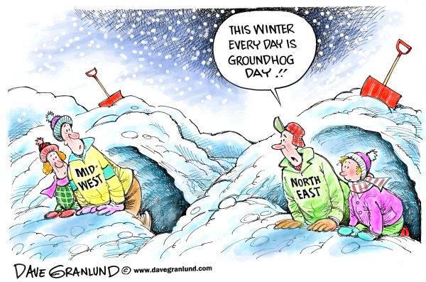 88737 600 Groundhogs and winter storms cartoons