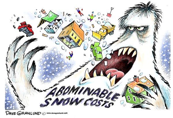89056 600 Abominable snow costs cartoons