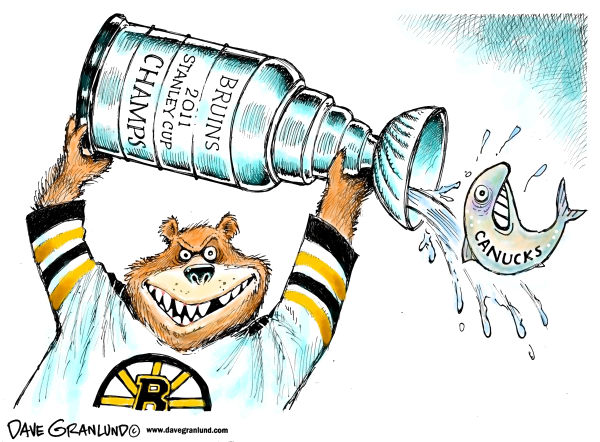 94379 600 Boston Bruins 2011 Champs cartoons