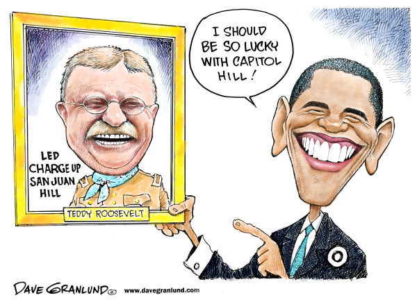 102503 600 Obama and Teddy Roosevelt cartoons