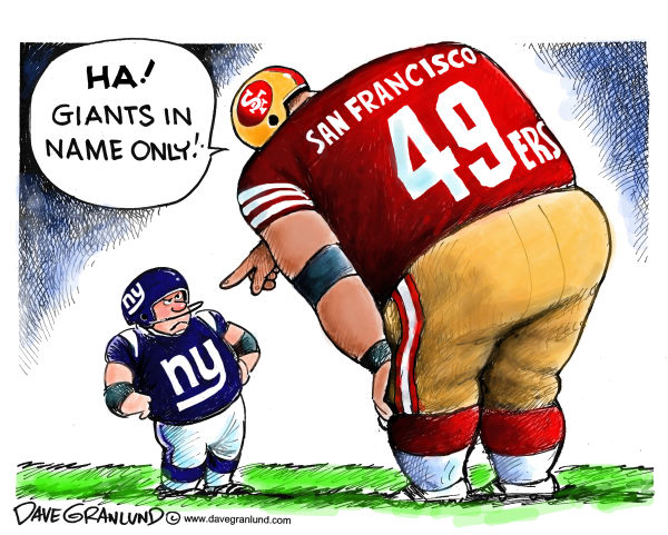 104753 600 Giants vs 49ers for NFC trophy cartoons