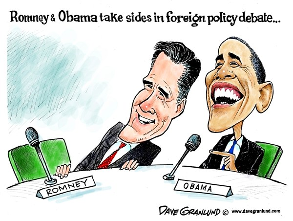 120977 600 Romney and Obama 3rd debate cartoons