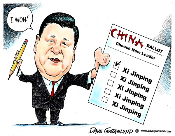 122446 600 Chinese leader Xi Jinping cartoons