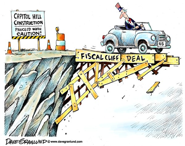 124865 600 Fiscal cliff deal cartoons