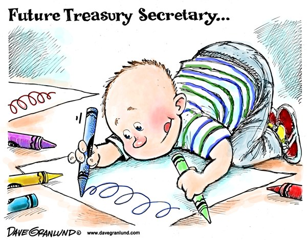 125374 600 Signature for US Dollar cartoons