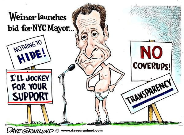 132118 600 Weiner New York Mayor bid cartoons