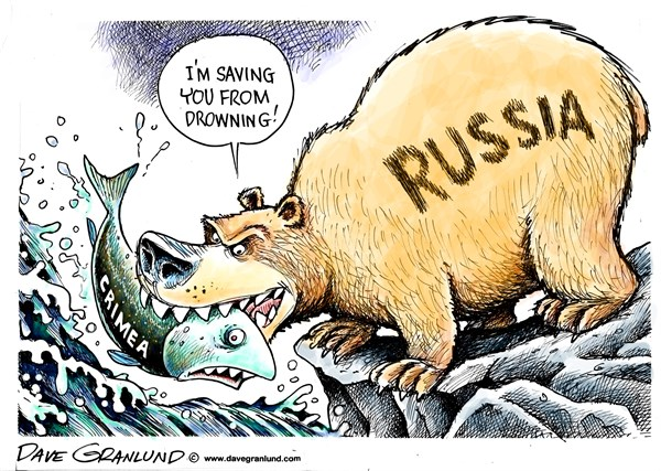 145159 600 Russia moves on Crimea cartoons