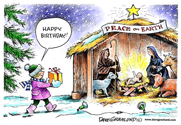 157740 600 Christmas Day Creche cartoons
