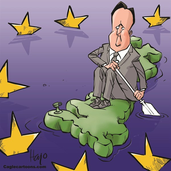 126038 600 Cameron and the EU cartoons