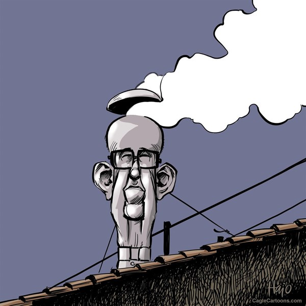 Hajo de Reijger - The Netherlands - white smoke - English - white smoke,pope,pope Francis,Franciscus,Rome,Vatican,election,Jorge Bergoglio,new pope, conclave