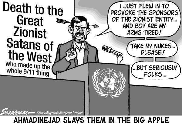 83607 600 Ahmadinejad at UN cartoons
