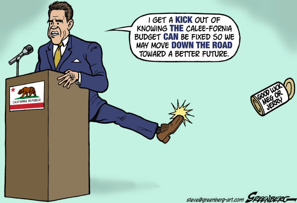 84205 600 California budget cartoons