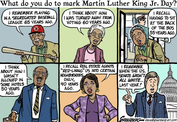 88067 600 Martin Luther King Jr Day cartoons