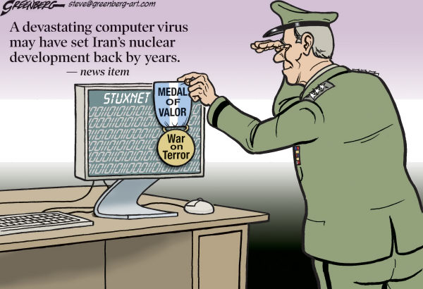 Virus Valor © Steve Greenberg,Freelance, Los Angeles,virus,worm,Stuxnet,Iran,Iranian,nuclear,development,computer,hacking,malicious code