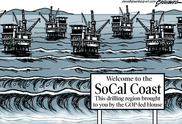 Steve Greenberg - VCReporter, Ventura. CA - Southern Calif coast - English - Southern California,Ventura,Santa Barbara,coast,coastal,drilling,oil,platforms,wells