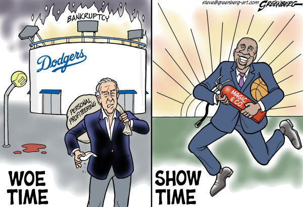 109070 600 Dodgers Magic cartoons