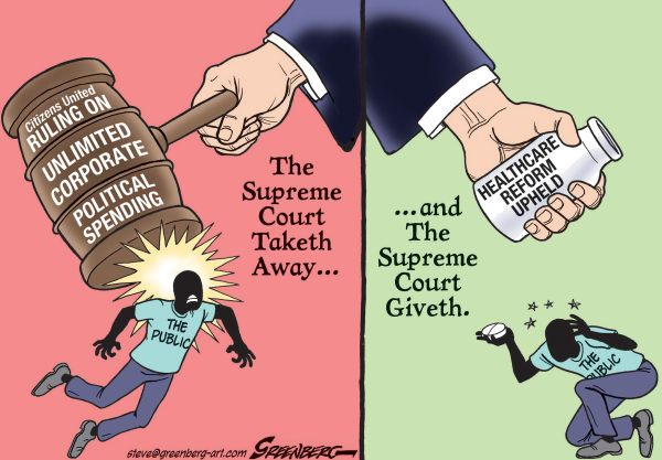 114285 600 Supreme Court and Healthcare cartoons