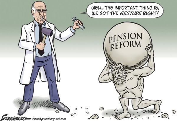 Steve Greenberg - Freelance, Los Angeles - CALIF Pension Reform - English - California,pensions,reform,Jerry Brown,Atlas,pension