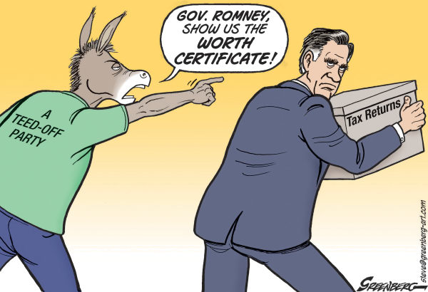 Steve Greenberg - VCReporter, Ventura. CA - Worth Certificate - English - Mitt Romney,taxes,tax returns,income,worth