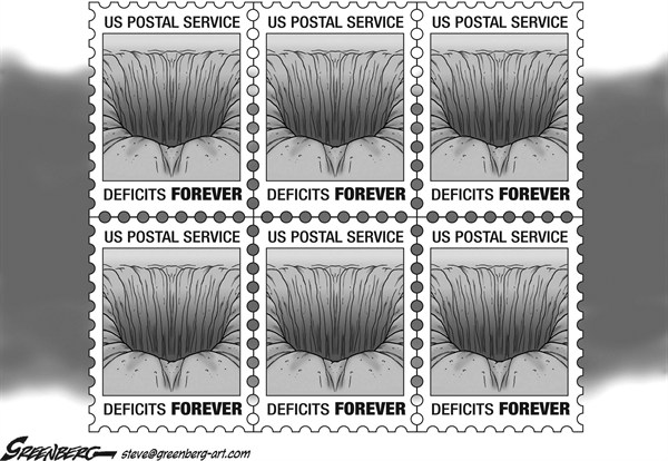 Steve Greenberg - Freelance, Los Angeles - Forever stamps bw - English - US Postal Service, post office,postage,Forever,stamps,mail,post,delivery,Saturday