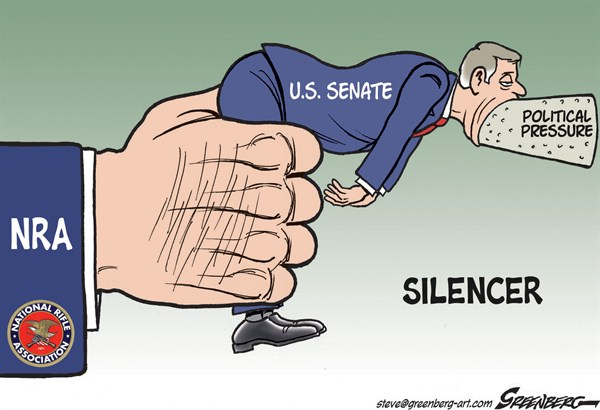 Silencer © Steve Greenberg,VCReporter, Ventura. CA,NRA,National Rifle Association,Senate,senators,gun control,firearms,assault,weapons,lobby,gun control bill, guns